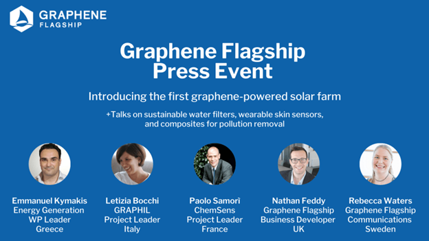 Graphene Flagship Press Event